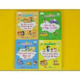 Bộ 4 cuốn sách kỹ năng giúp trẻ quản lý bản thân