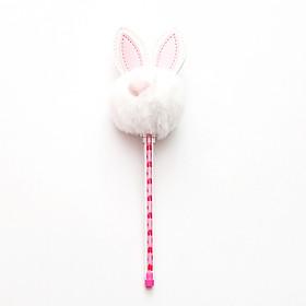 Bút bi nước thỏ bông cute cao cấp đủ màu sắc đáng yêu bút nhẹ ngòi bút viết êm mực đều – H055