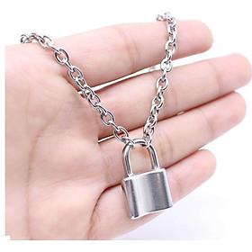 Dây chuyền vòng cổ nam nữ hình ổ khóa ngỗ nghĩnh