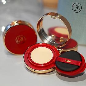 Sản phẩm trang điểm D&A ( Phấn nước COVER&GLOW DUAL LIGHT BEIGE , Kem dưỡng da Perfume Whitening Cream 01)-1