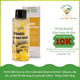 Nước thần hoa cúc 2in1 Calendula Essence Extract- Sáng da, cấp ẩm, se khít lỗ chân lông Cocayhoala 100ml