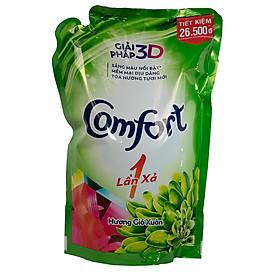 Nước xả vải Comfort một lần xả hương gió xuân túi 1.6 lít