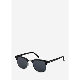 Mắt kính mát nam nữ ovan gọng kính kim loại phối nhựa nửa vành UV400 Jaliver Young SP – 1066