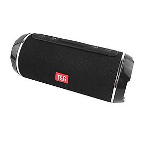 Loa Cầm Tay Bluetooth Không Dây Siêu Trầm Chống Sốc Nhận Thẻ U Disk/TF/AUX-IN T&G 116 Đen (Pin 1200mAh)