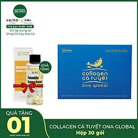 Combo 6 Hộp Collagen Cá Tuyết Cocayhoala ( Mua 6 tính tiền 5) làm đẹp da, căng bóng làn da, chống lão hóa, làm sáng da hàng chính hãng