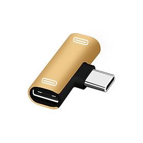 Thiết Bị Chuyển Đổi Chia 2 Cổng Type-C/USB/Cổng Âm Thanh Cho Điện Thoại Xiaomi 6 6X 8 Note3 Mix 2 Huawei Mate 10 P20