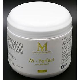 Kem Dưỡng Trắng Da Cốt Yến Mi Young M-Perfect Luxury Body Cream - 500gr