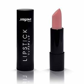 Son Lì Collagen Nagano 2,9g - Gồm 4 màu Sassy Pink, Pink Berry, Pink Marmalade, Dark Magenta, chất son mịn, chứa Collagen giúp dưỡng mềm môi