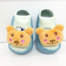 Giày (tất) hình thú 3D tập đi chống trơn trượt cho bé - Tặng kèm khẩu trang cho bé