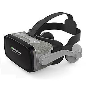 Kính Thực Tế Ảo Bluetooth Hỗ Trợ Màn Hình 6.5inch Có Tai Nghe VR Shinecon G07E/K0