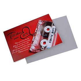 Thiệp tình yêu Tlive - love card 1045