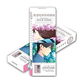 Bookmark Tớ Muốn Ăn Tụy Của Cậu Full - Kimi no Suizou wo Tabetai