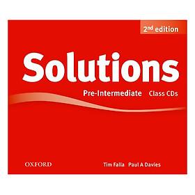 Solutions (2E) Pre-Intermediate Class Audio CDs (3 Discs)