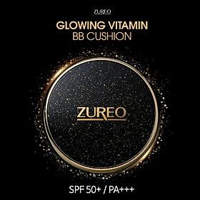 Kem nền che khuyết điểm mỏng nhẹ Zureo Glowing Vitamin BB Cushion