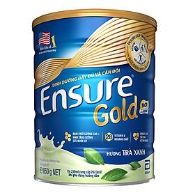 Sữa Bột Ensure Gold HMB Trà Xanh 850g
