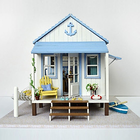 Nhà búp bê Ngôi nhà thu nhỏ lắp ghép Happiness Coast
