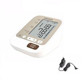 Máy đo huyết áp bắp tay Omron JPN600 + Tặng kèm 1 bộ đổi nguồn Omron