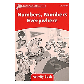Dolphin Readers Level 2 Numbers, Numbers Everywhere Activity Book