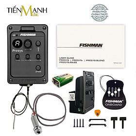 [Chính Hãng] EQ Fishman PRO 101 cho Đàn Guitar PSY-EAA-QAA (PRO-PSY-101) Presys Preamp - Thiết bị Thu âm Equalizer Finger Style - Kèm Móng Gẩy DreamMaker