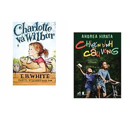 Combo 2 cuốn sách: Charlotte và Wilbur   + Chiến binh cầu vồng