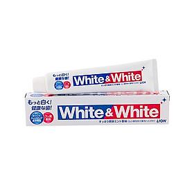 Kem Đánh Răng Nhật Bản Lion White & White Lion Hương Bạc Hà Làm Sạch Sảng Khoái 150g