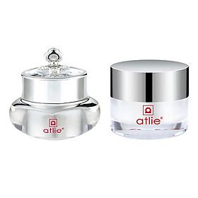 Hình đại diện sản phẩm Combo kem tái tạo và làm trắng da 5 trong 1 Atlie 5GF Cells - Renew and Anti-aging Beauty Cream + Kem dưỡng trắng ngọc trai Atlie Ocean Pearl White