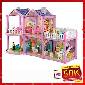 Mô Hình Nhà Búp Bê Cỡ Lớn Cho Các Bé Chơi Đồ Chơi Barbie Mã 958