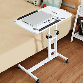 Foldable Computer Table Portable Rotate Laptop Bed Standing Desk