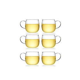 Bộ 6 tách trà thủy tinh Samadoyo CP30/6 100mL