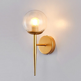 combo 2 Đèn tường, đèn decor khung mạ vàng