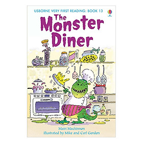 Sách thiếu nhi tiếng Anh - Usborne Very First Reading: 13. The Monster Diner