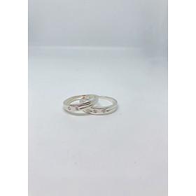 Nhẫn Đôi - Mẫu 23-NĐ0023 Cỡ Trung