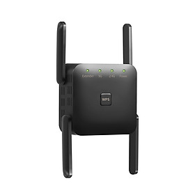 1200Mbps Dual Frequency 2.4G/5G Wireless Repeater WiFi Signal Amplifier WiFi Range Extender for Home Office Black