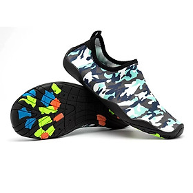 Giày đi nước, lội suối, đi biển, chơi các trò vận động, không trơn trượt, bảo vệ chân khỏi các vật sắc nhọn, nhẹ, mềm, thoáng khí, nhanh khô (SA070)