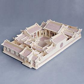 Đồ chơi lắp ráp gỗ 3D Mô hình Nhà Tứ Hợp Viên