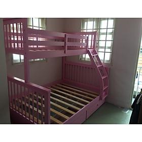 giường 2 tầng A28 hồng
