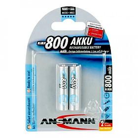 Pin Sạc AAA-800 BL2 ANSMANN vỉ 2 viên - Hàng Nhập Khẩu