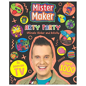 Mister Maker Giant Sticker And Activity Book