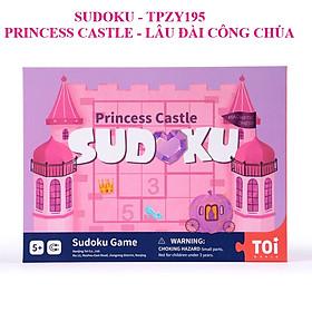 Trò Chơi Sudoku Lâu Đài Công Chúa chính hãng TOI Princess Castle cho bé từ 5 tuổi