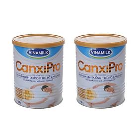 BỘ 2 LON SỮA BỘT VINAMILK CANXIPRO 400G