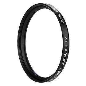 Kính Lọc K&F Concept Filter Slim UV Digital HD - Japan Optic - Size 52mm (Đen) - Hàng Nhập Khẩu