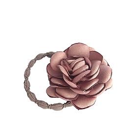 Dây Buộc Tóc Hoa Trà Nữ Tính Sam Handmade D004