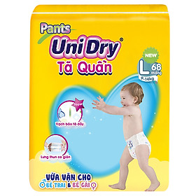Tã Quần Unidry Ultra Jumbo L68 (68 Miếng)