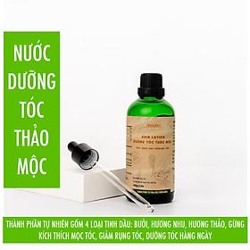 Nước dưỡng tóc thảo mộc NeoSky 100ml- Tạo độ dày tự nhiên cho mái tóc, giúp tóc giảm gãy rụng, khô xơ