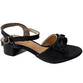 Giày Sandal Cao Gót Nữ BIGGBEN Da Bò Thật SDCG53