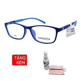 Gọng kính, mắt kính chính hãng Velocity VL36459 162 - Tặng 1 khăn và nước lau kính - khăn màu ngẫu nhiên