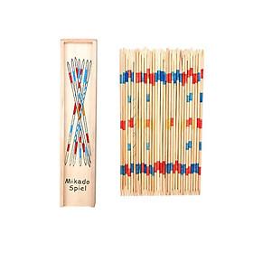 Đồ chơi gỗ - Trò chơi dân gian Mikado Spiel