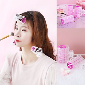 Combo 3 kẹp phồng tóc tự dính, lô cuốn tóc xoăn tạo kiểu tóc Hàn Quốc KT30