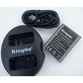 Combo 1 pin 1 sạc Kingma for Olympus BLN-1 – Hàng chính hãng