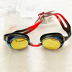 """Kính bơi tráng gương Fashy nhập khẩu từ Đức, tiêu chuẩn chất lượng Châu Âu dòng """"Power Mirror"""" kiểu dáng thời trang, chống mờ, chống tia UV dành cho người lớn, trẻ em nhiều độ tuổi Freesize"""
